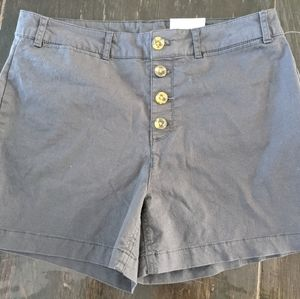 Highwaisted Button Fly Shorts